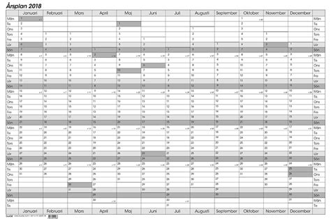 Kalender 2018 Veckor Röda Dagar Whiteboard Kalender 2018 Kalenderkungen