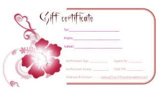 personalized gift certificates template free personalized gift certificate template bestsellerbookdb