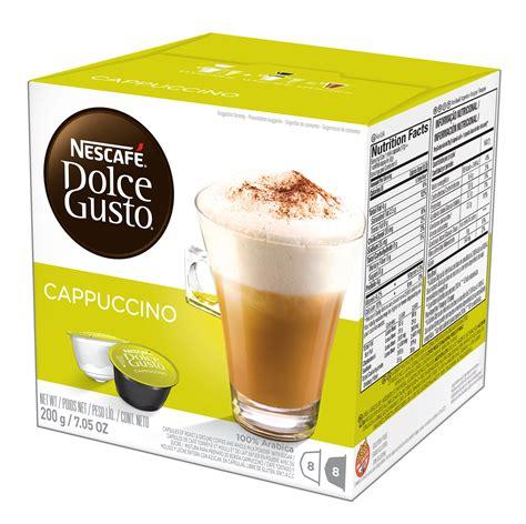Dolce Gusto Cappuccino By Ancha nescafe dolce gusto chai tea latte 8 each tea