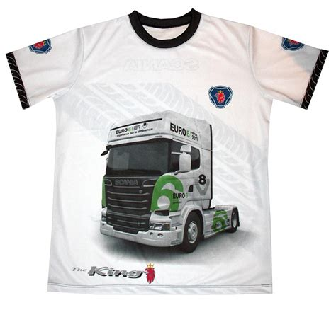 T Shirt Scania Logo scania t shirt with logo and all printed picture t
