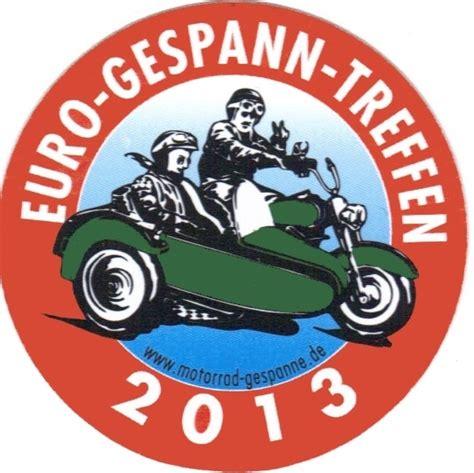 Motorrad Gespann Aufkleber by Egt Aufkleber 2013 Motorrad Gespanne