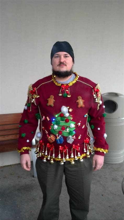 make it snow ugly christmas sweater