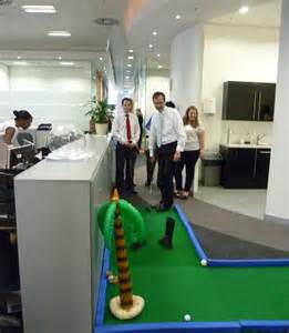 indoor mini golf banish the office boredom golf
