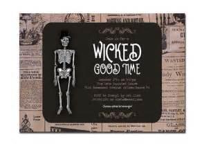vintage halloween invitation party invitation retro