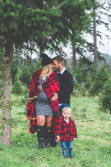 How To Throw A Wedding Shower by Canadian Christmas Tree Farm Family Photos By Studio 1079