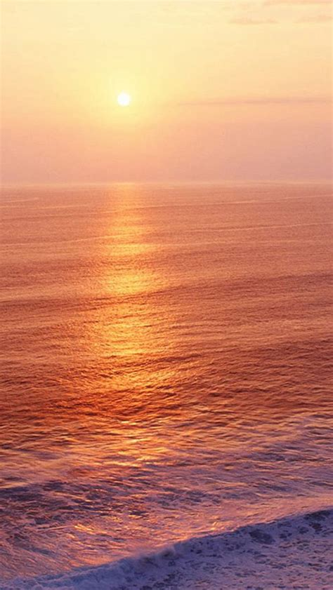 nature sunrise ocean ripple surface iphone  wallpaper sunrise wallpaper iphone