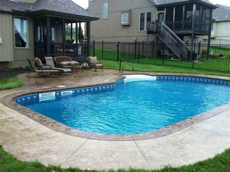 pool liners for inground pools price inground pool