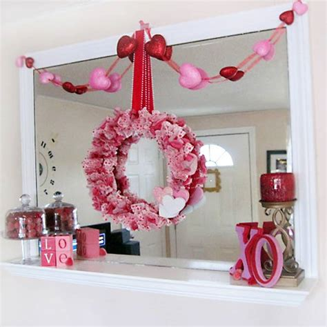 valentine decorating ideas valentine s day mantel decoration ideas