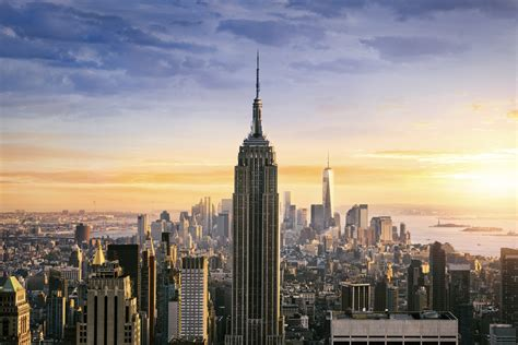 Im To New York 2 by Experience Sonnenaufgang Im Empire State