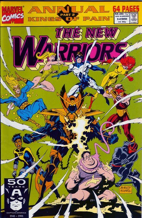 warriors jacob s volume 1 books new warriors annual 1 new warriors dot