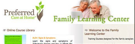 family caregiver tools preferred care at home