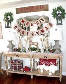Farm Decorations For Home by 25 Best Ideas About Farmhouse Christmas Decor On