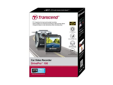 Transcend Drivepro 100 Cvr Dp100 Car Recorders Memory Card drivepro 100 car recorders your most reliable eyewitness hd car recorder with