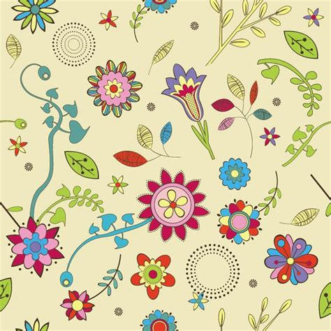 cute wallpaper vector free download cute flowers wallpaper pattern vector free download