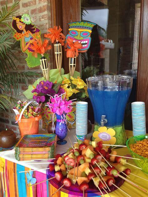 hawaiian backyard party ideas luau party party pinterest