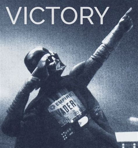 Victory Meme - darth vader victory starwars meme celebration coso