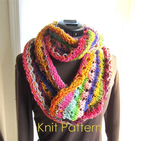 easy infinity scarf knit pattern easy knit scarf pattern tutorial infinity by