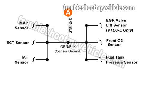 1996 1998 throttle position sensor circuit diagram 1 6l