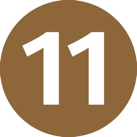 number 11 clip art clipart bay