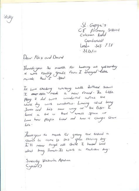 formal thank you letter exle ks2 thank you letter exle ks2 docoments ojazlink