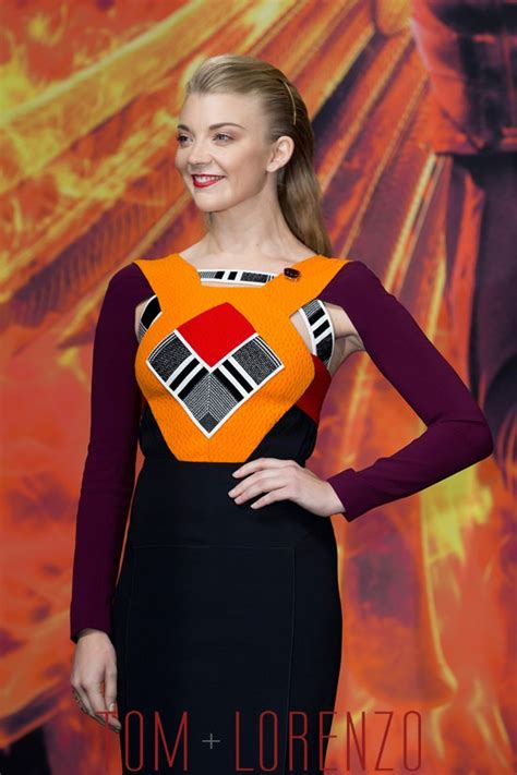 natalie dormer site natalie dormer in roland mouret at quot the hunger