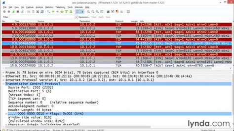 wireshark tutorial lynda detecting denial of service attacks