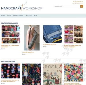 Handcraft Workshop - handcraft workshop fabric boutique sewing studio