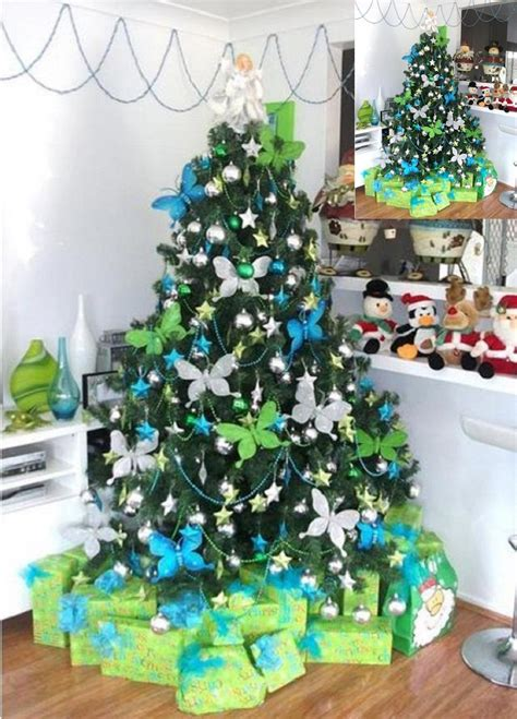 unique christmas tree themes