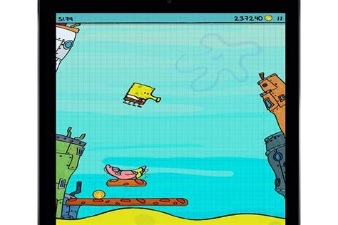 doodle jump spongebob apk indir kidscreen 187 archive 187 spongebob gets doodle jump app treatment