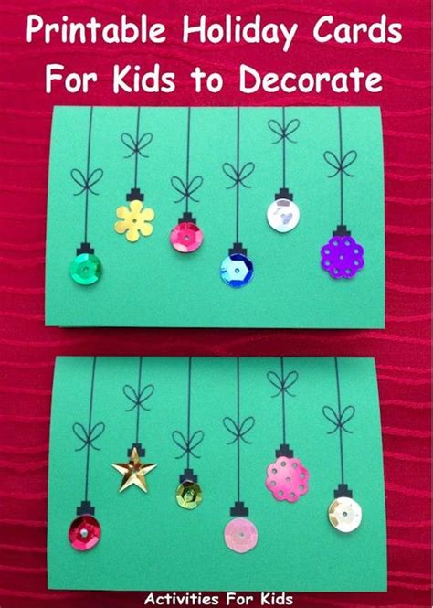 cards for preschoolers to make cards for to make simple enough for a