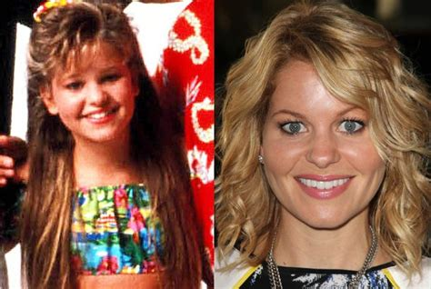 candace cameron then and now | Full house | Pinterest Full House Dj Now