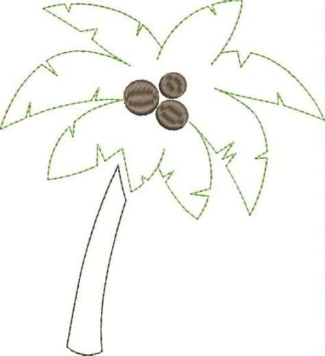 palm tree templates palm tree applique snap fabric and fiber crafts
