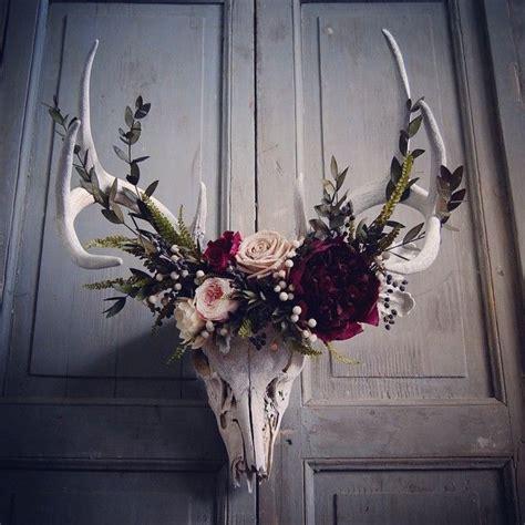 Skull Decorations by Best 25 Deer Skull Decor Ideas On Deer Skulls