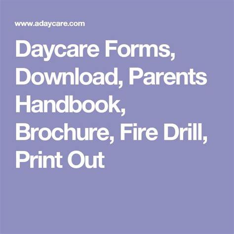 278 Best Classroom Forms Images On Pinterest Daycare Contract Daycare Forms And Daycare Ideas Daycare Parent Handbook Template
