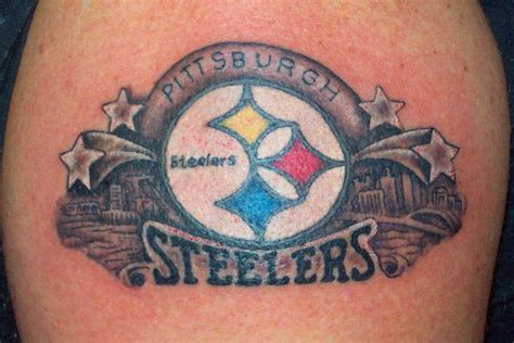 steelers tattoo steelers inked pinterest art and