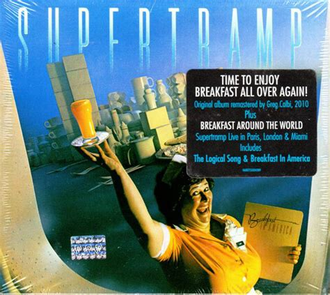 cover layout of american breakfast supertr breakfast in america cd album album at