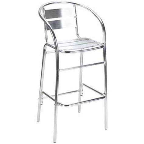 outdoor aluminum bar stools g a seating newport aluminum outdoor bar stool 825