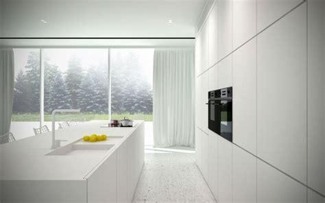 armarios minimalistas espacio en blanco m 225 s de 100 ideas para cocinas minimalistas