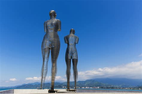 Decorating by Love Is In The Air With Batumi S Sculptures In Pictures