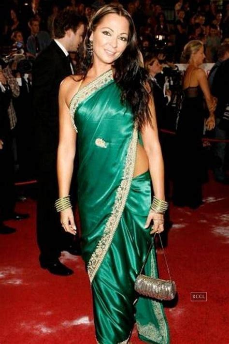 best hollywood actress in saree 50 best images about desi foreign celebs on pinterest