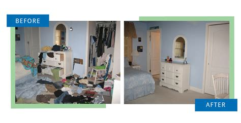 Organizing Bedroom Ideas before amp after declutter your home serving washington dc