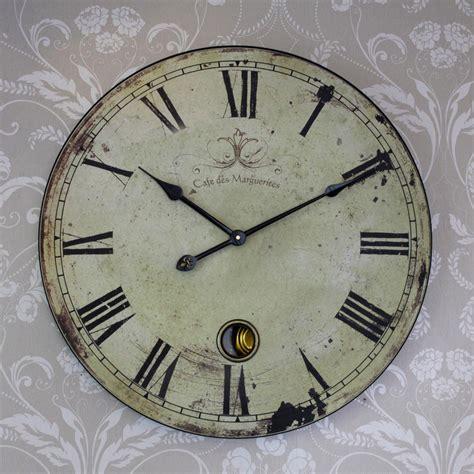 vintage clock large style clock melody maison 174
