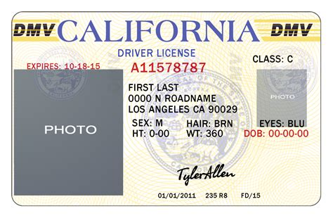 Driver License Template drivers license template sanjonmotel