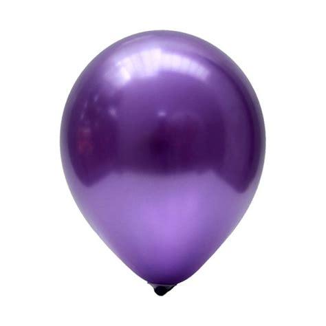 Balon Balon Pesta Anak Disney jual our metalik ungu balon harga kualitas terjamin blibli