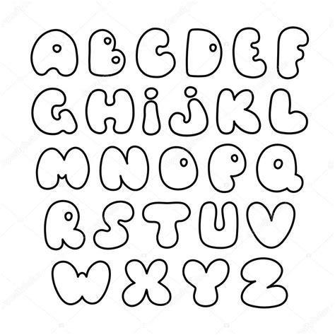 caratteri lettere alfabeto alfabeto di vettore lettere disegnate a mano carattere