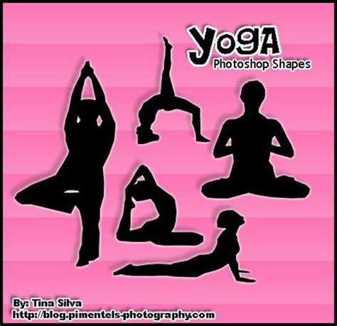 yoga pattern photoshop free photoshop custom shapes to spice up your work