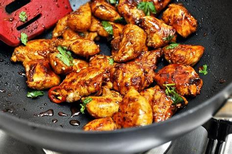 thai style garlic chicken fuss free cooking