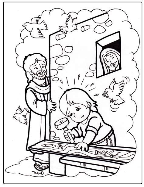 Coloring Pages Jesus Grows Up | blog del profesorado de religi 243 n cat 243 lica recursos para