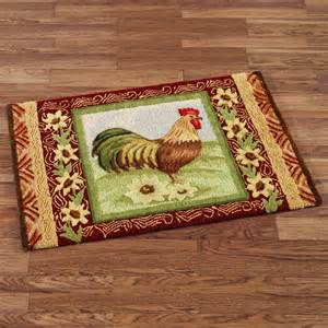 Country Kitchen Rugs Rooster Kitchen Rugs Creating A Country Kitchen Nuance Homesfeed