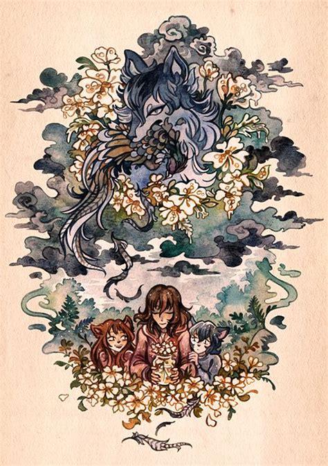 25 best ideas about wolf children on mamoru